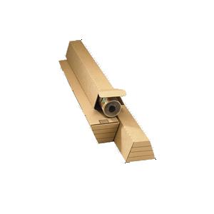 Koker trapezium bruin